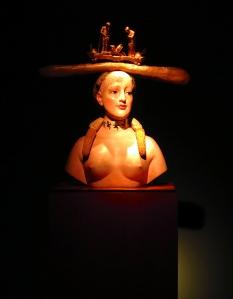 Salvador Dali- Retrospective bust of a woman