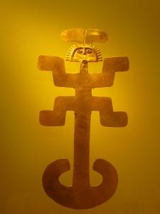 Impressive Pre-Colombian gold at Museo del Oro