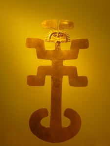 Impressive Pre-Colombian gold at Museo del Oro