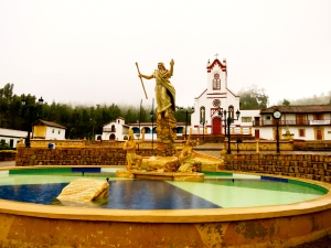 Beautiful town square of Cultiva