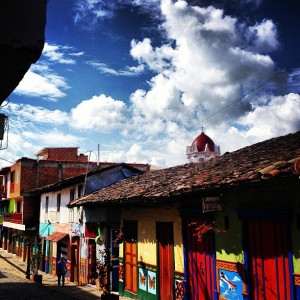 Guatapé is a very quaint weekend vacation spot for Medellin residents