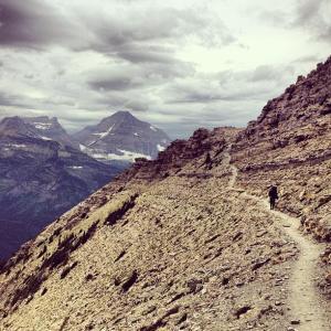The pitamakan pass trail