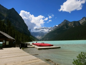 Lake Louise in Banff NP