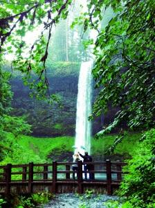 Rainy days and waterfalls