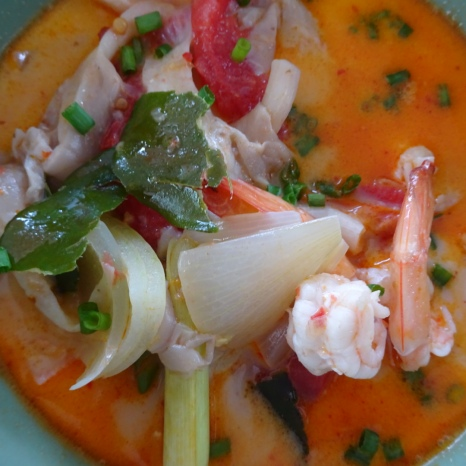 Finished product! Tom Yum Goong